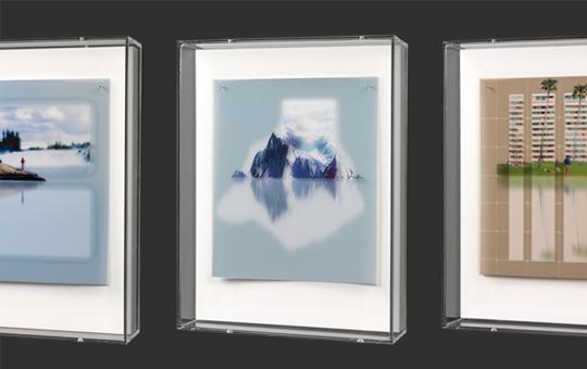Floating Islands - serie van Thomas Elshuis